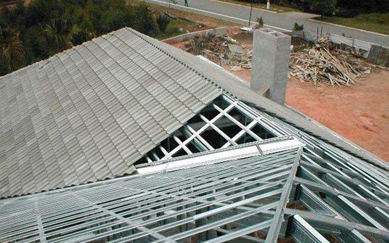 venda de telhado steel frame em londrina