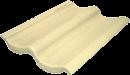 telha double s marfim palha